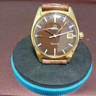 vintage 1969's Omega Geneve 上鍊日曆男裝錶