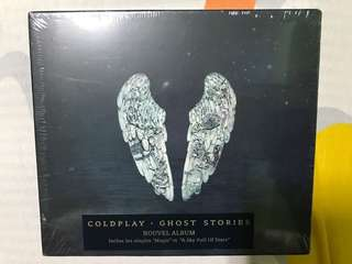 Coldplay - Ghost Stories cd sealed + free