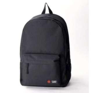 (Ready Stock) Black Big School Bag