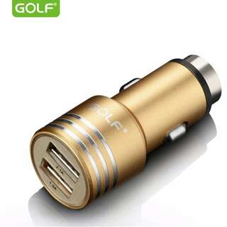 🆕Golf® Bullet Car Charger - Gold