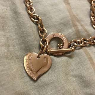 Tiffany & Co. Rose gold Chain necklace