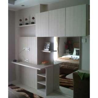 Unit bersih,rapih,dan nyaman 1BR full furnish bulanan