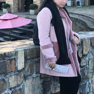 Winter Jacket/ pink jacket
