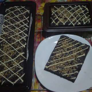 Brownies mede with white coklat