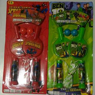 Ping Pong and Jumping Rope Set (for boys)