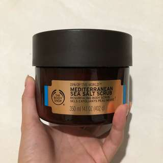 The Body Shop Mediterranean Sea Scrub