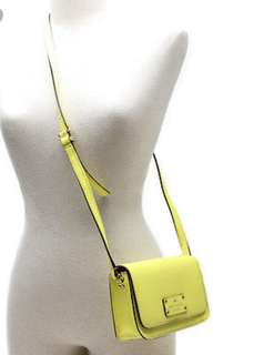 Kate Spade Crossbody  (Wellesley Fynn) Yellow