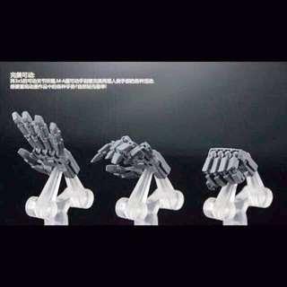 Gundam Mg 1/100 Hands Macross Transformers Masterpiece Custom Master Grade Perfect Pg