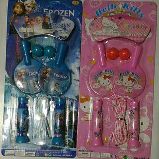 Ping Pong and Jumping Rope Set (for girls)