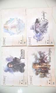 Lord of the Rings Map x 4 pcs