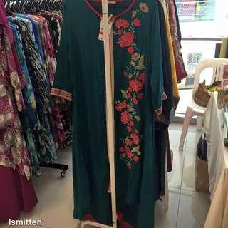 Long fishtail dress