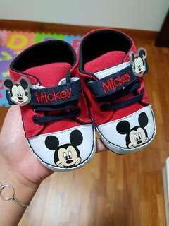 Baby Mickey Prewalker Shoes