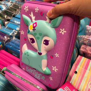 Smiggle Hardtop Pencil Case for Girls