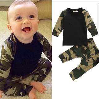 ❤INSTOCK❤ Nicky Camo Top and Pants Set
