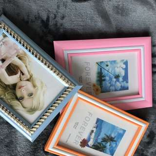 Colourful Photo Frames