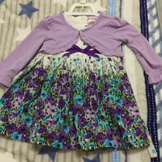 Brand new nanette's dress with cardigan