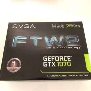 EVGA GeForce GTX 1070 FTW2 GAMING