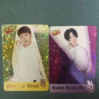 JBJ yes card 閃卡