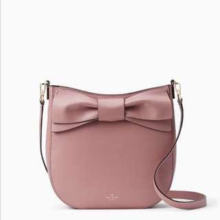 SALE Kate Spade Olive Drive Robin Crossbody Slingbag Pink Ribbon