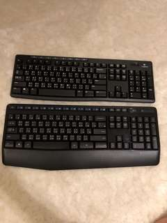 Logitech Keyboard (120 each)