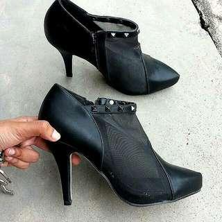 Boot Heels Black