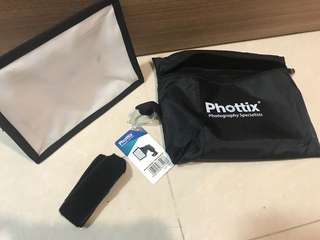 Phottix softbox / Flash Strap Set
