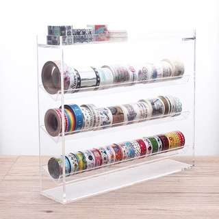 Washi Tapes Transparent Rack