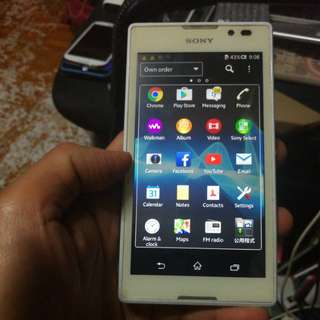 Sony xperia  C   c 2305  (read & see my carousell information ithet mobile)