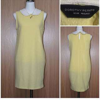 Dorothy Perkins yellow collar dress