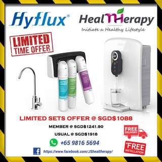 HYFLUX Alkaline-3 UF with DEW800 SYSTEM WATER FILTRATION (LIMITED TIME OFFER)