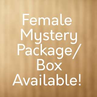 Free Mail! Female Mystery Package/Box