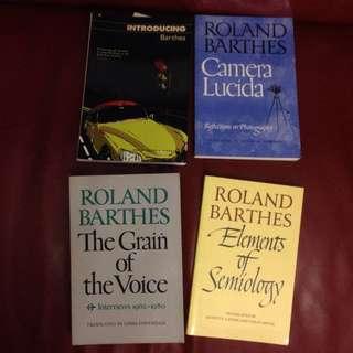 Books by Barthes Kierkegaard