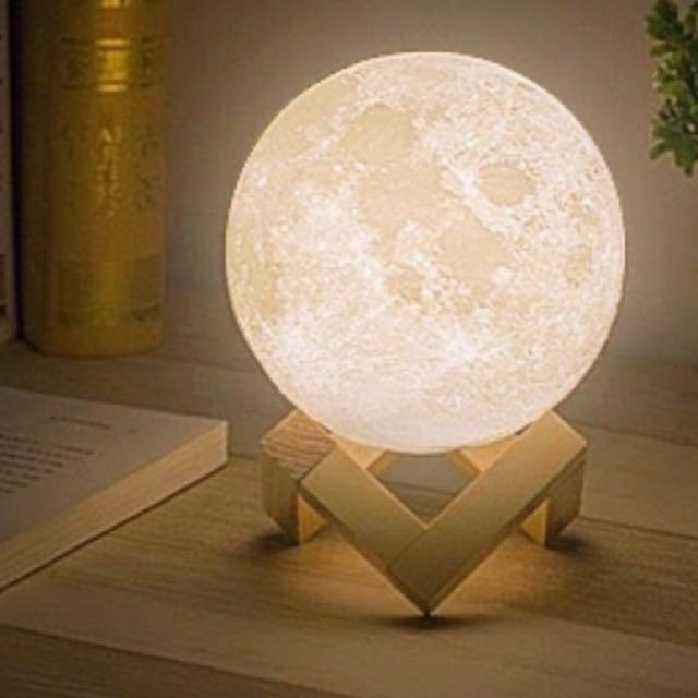 3D遙控月球小夜燈(可變換6色)