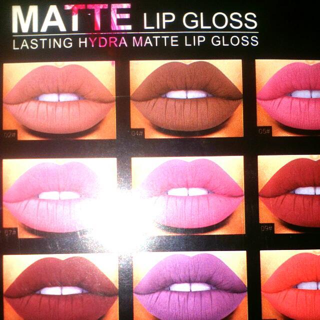 $5 Each Lasting Matte Lip Gloss