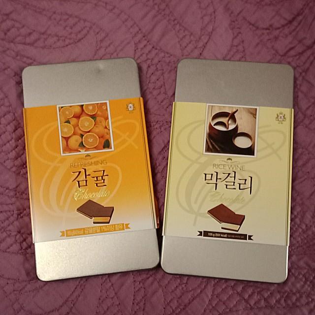 來自韓國原裝 巧克力
