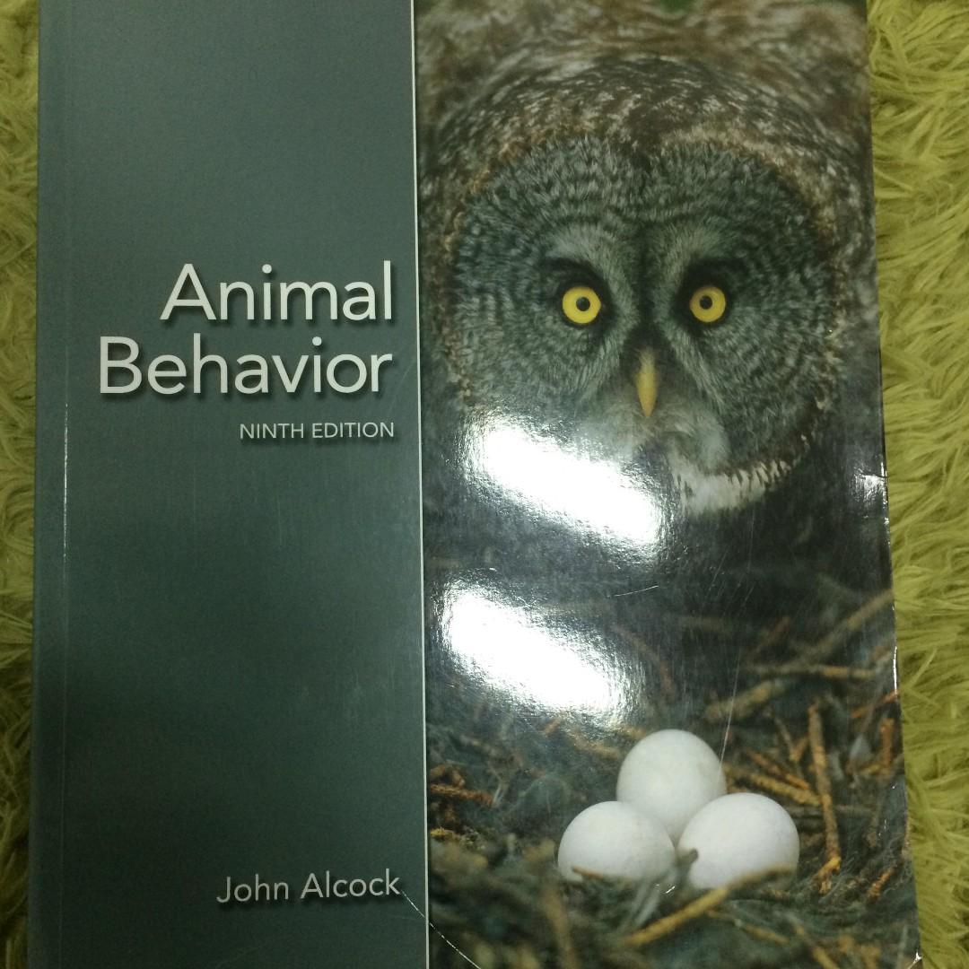 動物行為學 #出清課本