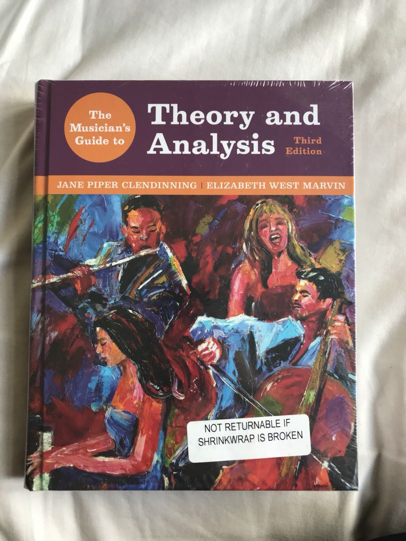 A Musician's Guide to Theory and Analysis