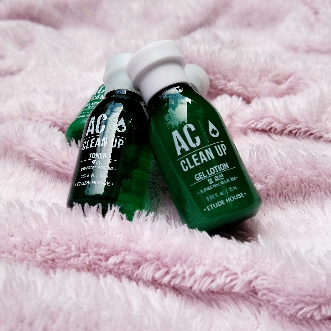 AC Toner and Lotion