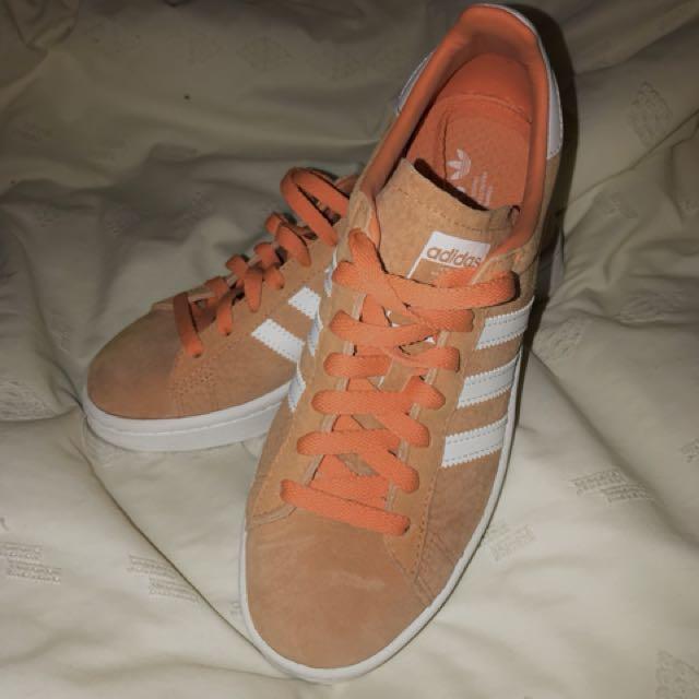 Adidas Campus Shoes - orange
