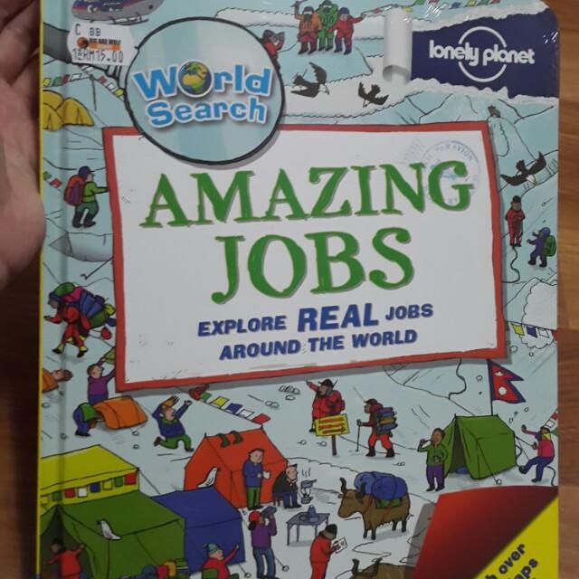 Amazing Jobs - BBW Book