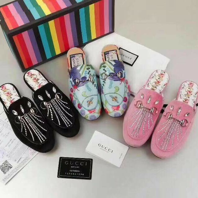 Auth quality Gucci Princeton Slides new designs