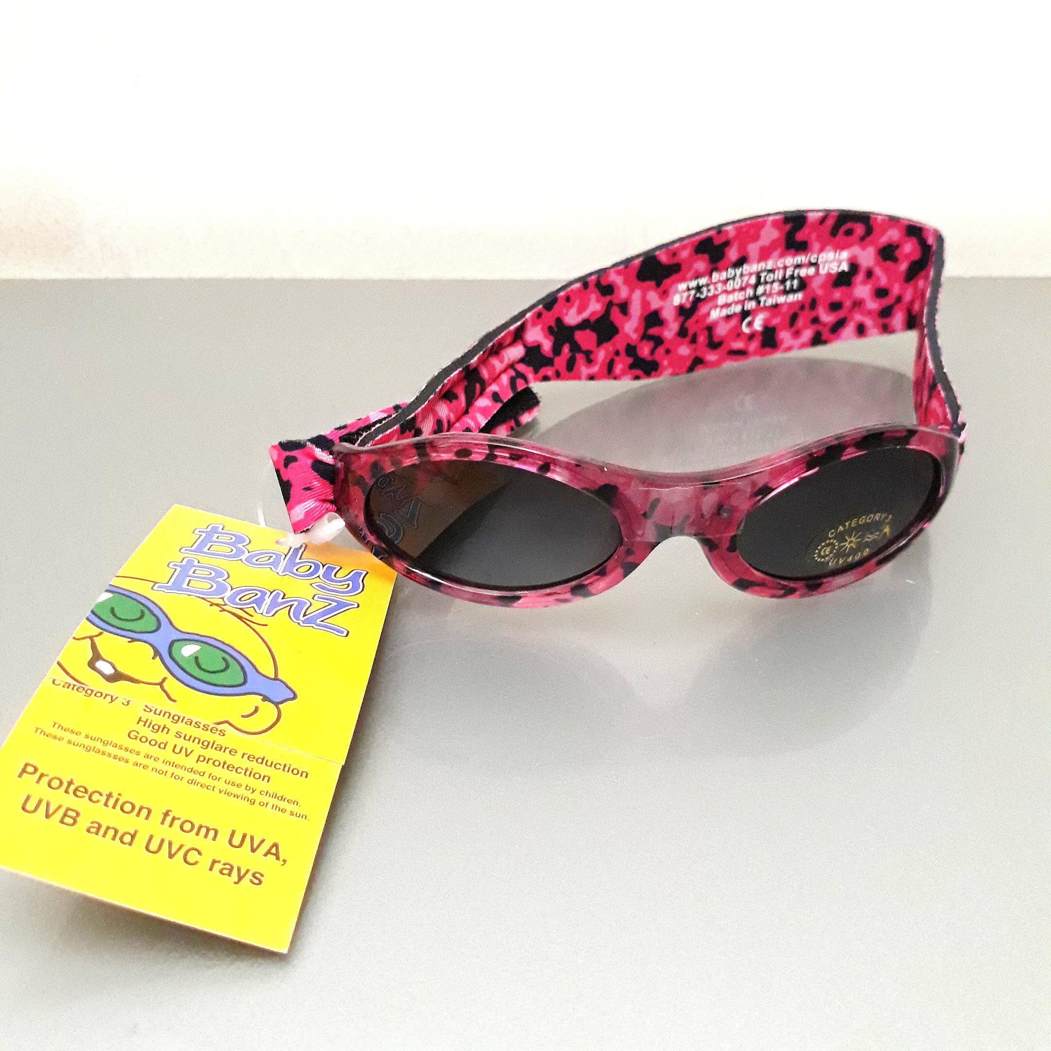 Baby Banz Sunglasses | Kaca Mata anak anti UV