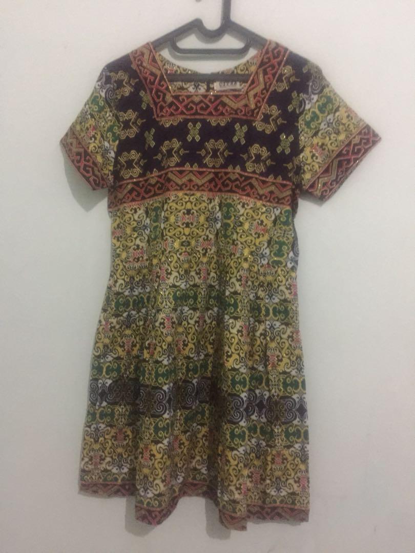 Batik dress - local brand