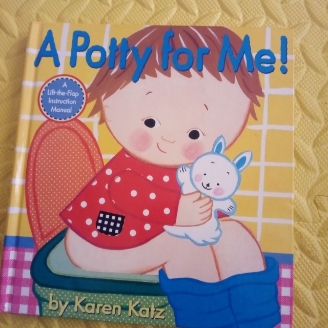 Book for Kids - Potty for Me