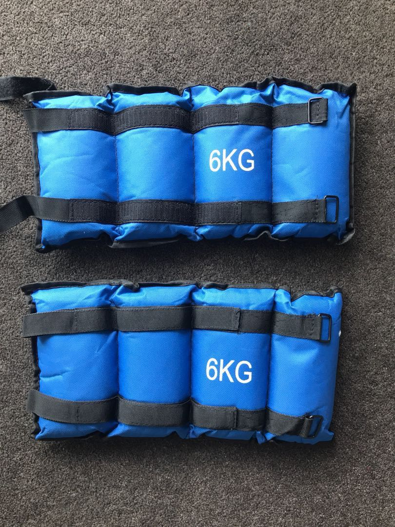 BRAND NEW 6KG ANKLE WEIGHTS