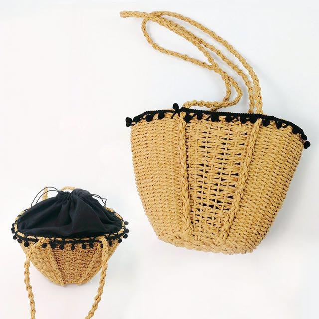 Brand new rattan bag.