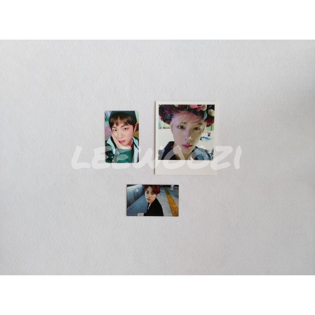 BTS Jin Official Photocards