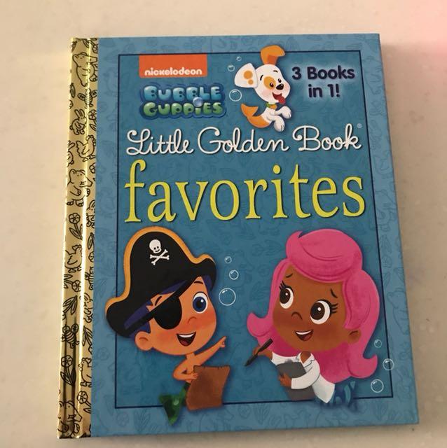 Bubble Guppies 3 books in 1