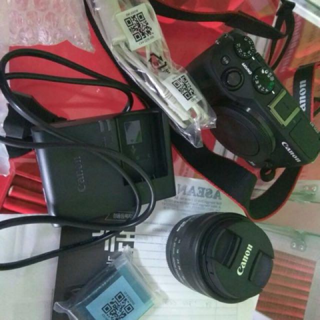 Canon mirrorless m3