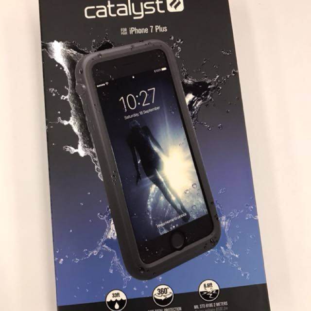huge discount 196fd a6e92 catalyst waterproof case for iphone 7 or 8 plus on Carousell